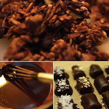 Hjemmelavet overtrækschokolade