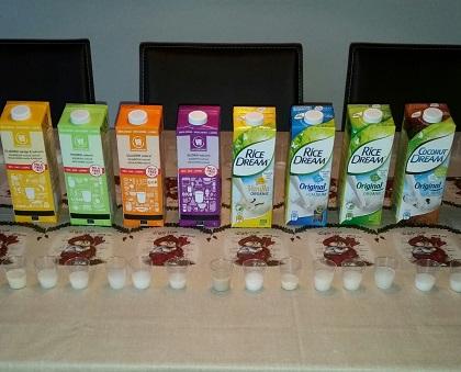 Test af mælkefri drikke