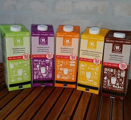Urtekram mælkefri drikke