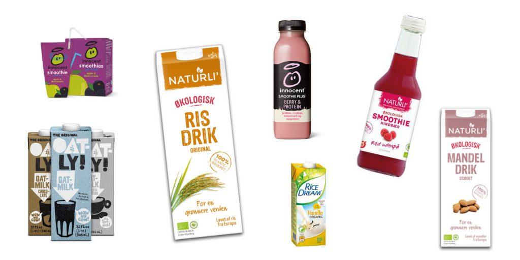 Mælkedrikke der kan erstatte mælk