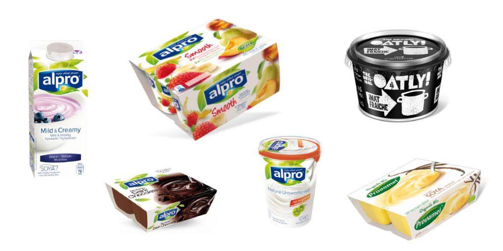 Erstatte mælk indenfor yoghurt, desserter og cremefraiche